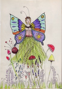 My Butterfly Fairy from Jane Davenport's class, Joynal.